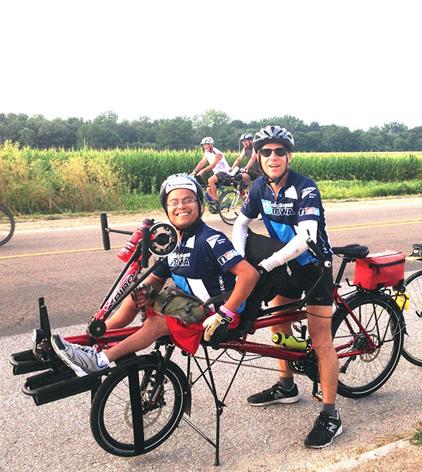 Hase Pino riders at RAGBRAI