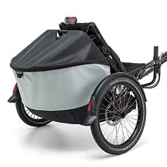 Roller bag for recumbent trikes