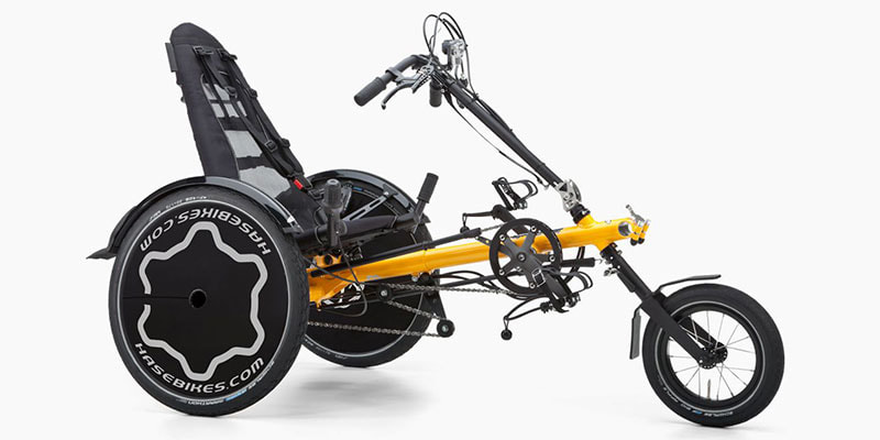 Hase TRETS REH adaptive delta recumbent trike for kids