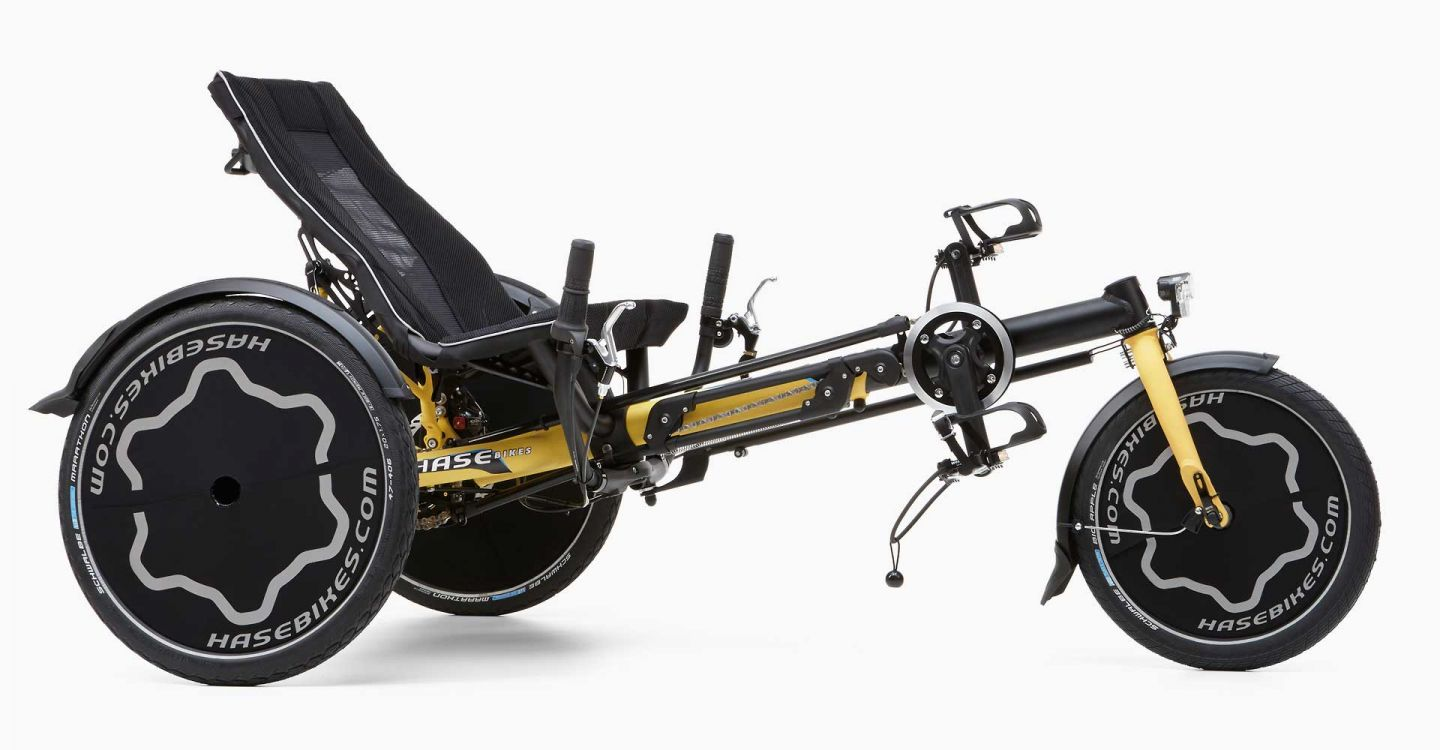 Hase TRIX recumbent trike side view