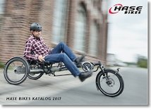 Order a HASE Bikes catalog